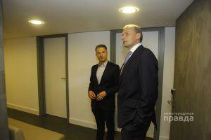 Дмитрий Сватковский на открытии отеля