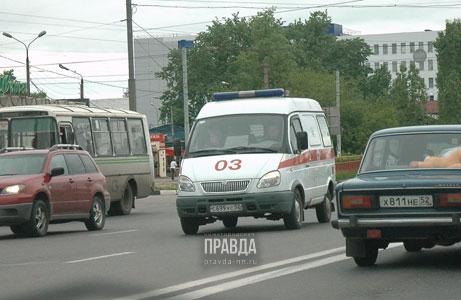 Нижегородцы угнали машину скорой помощи
