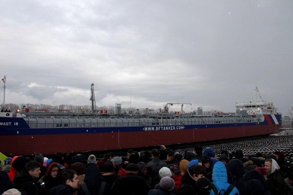 «Красное Сормово» спускает на воду новый танкер