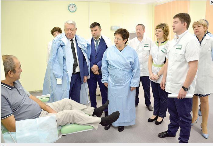 27 октября в Богородске состоялось торжественное открытие отделения гемодиализа