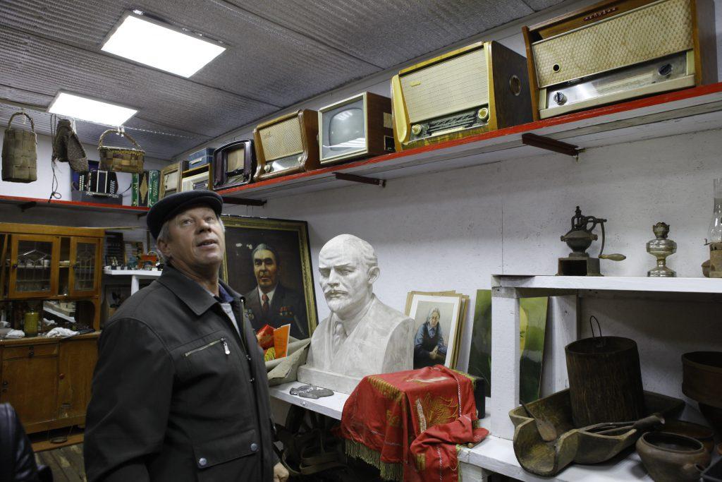 Ленин с утюгом и самоваром