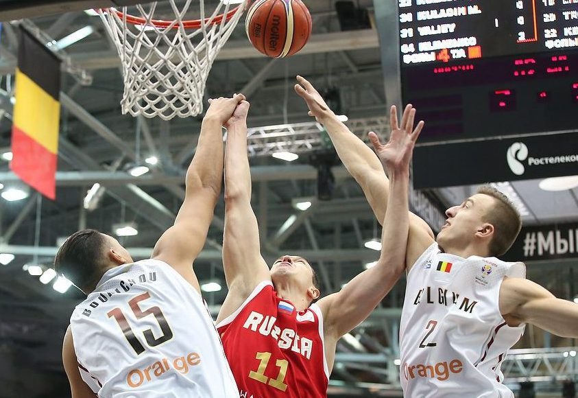 Нижний баскетболен!