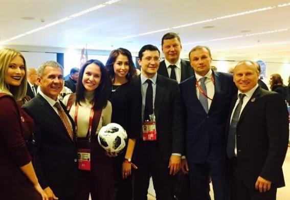 В Нижний Новгород приедут звезды мирового футбола