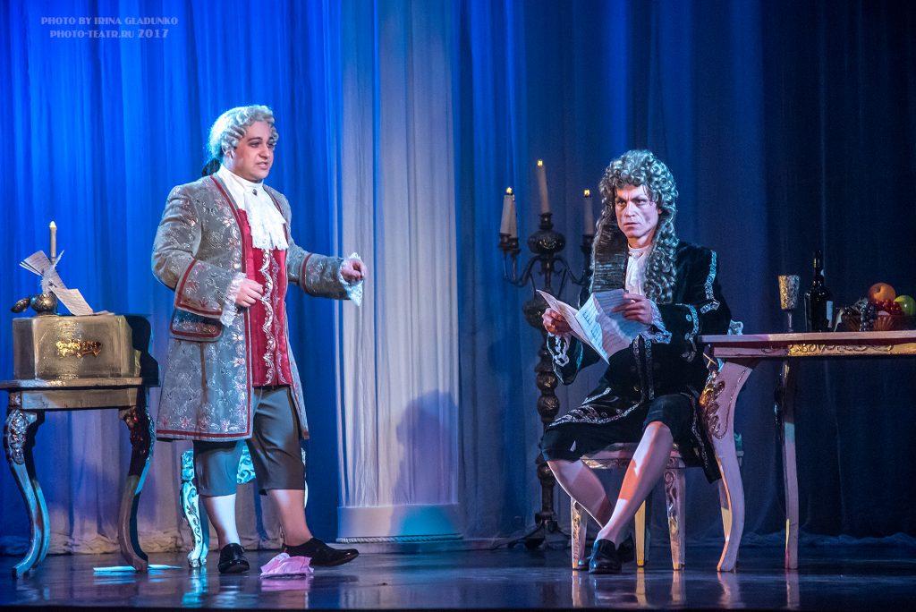 В оперном театре дважды убили Моцарта