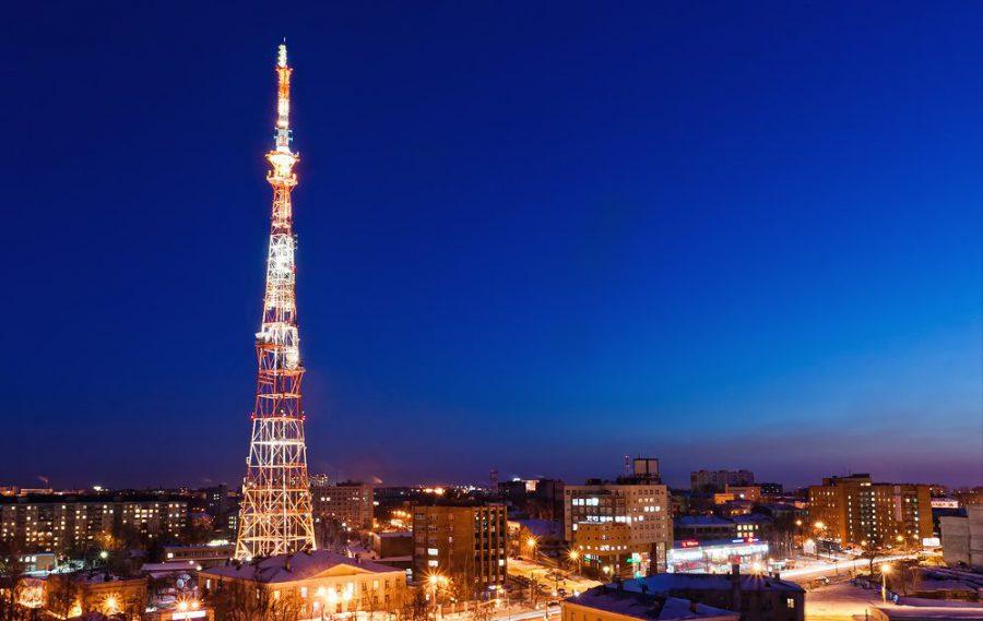 Нижегородская телебашня станет ёлкой 31 декабря