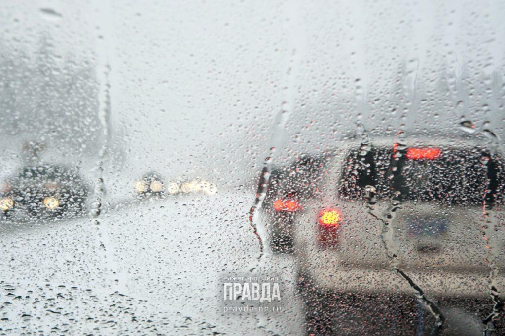 Нижний Новгород встал в 9-балльных пробках из-за снегопада