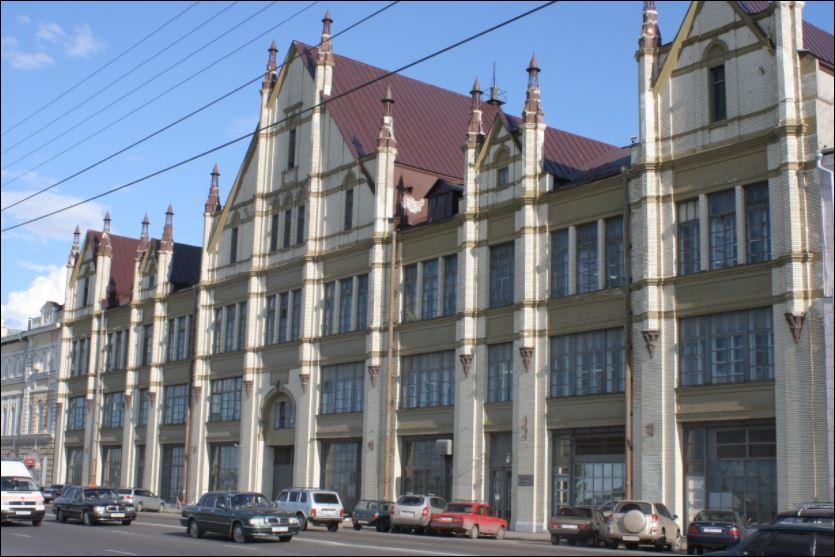 Здание бывшей фабрики «Маяк» загорелось в Нижнем Новгороде