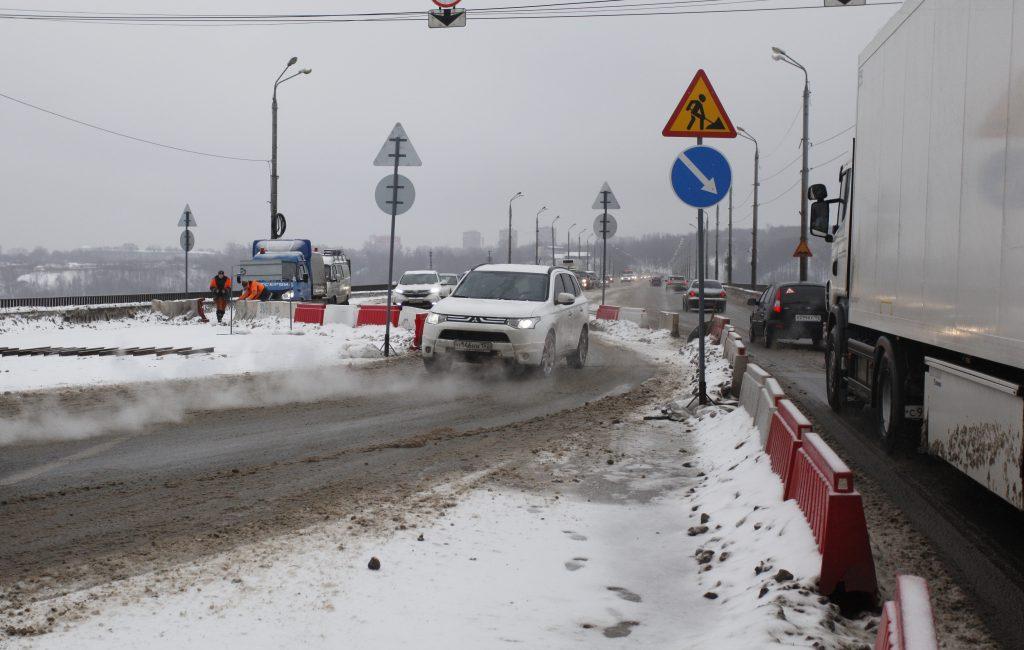 В Нижнем Новгороде пришлось экстренно ремонтировать мост