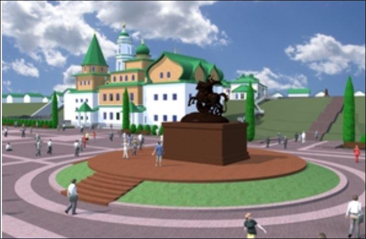 Еще один памятник должен появиться на Бору – Георгию Победоносцу