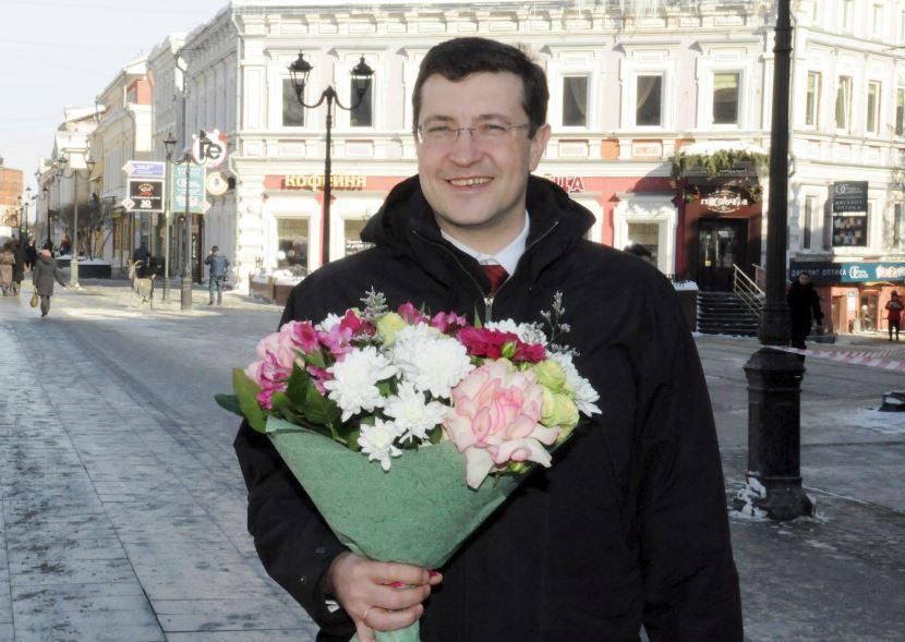 Поздравление губернатора Нижегородской области Глеба Никитина сМеждународным женским днем.