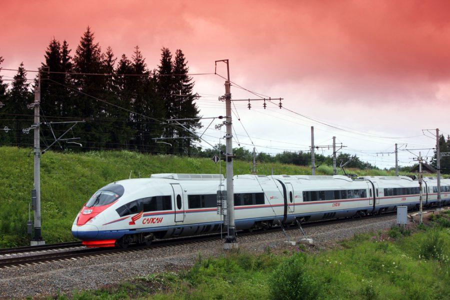 Курсирование поезда «Сапсан» из Нижнего Новгорода и обратно приостановлено до 28 мая