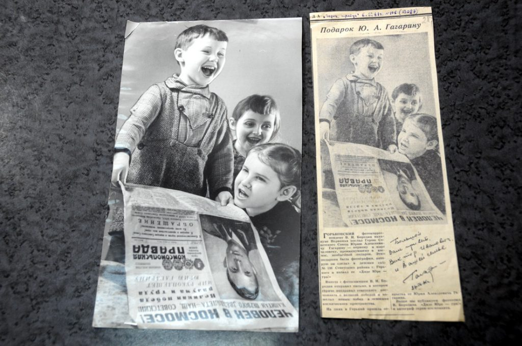 «Дяде Юре — ура!». Нижегородские архивисты показали секретные документы о Гагарине