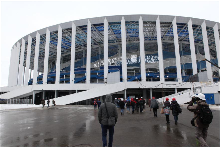 Чем нижегородский стадион удивит гостей чемпионата