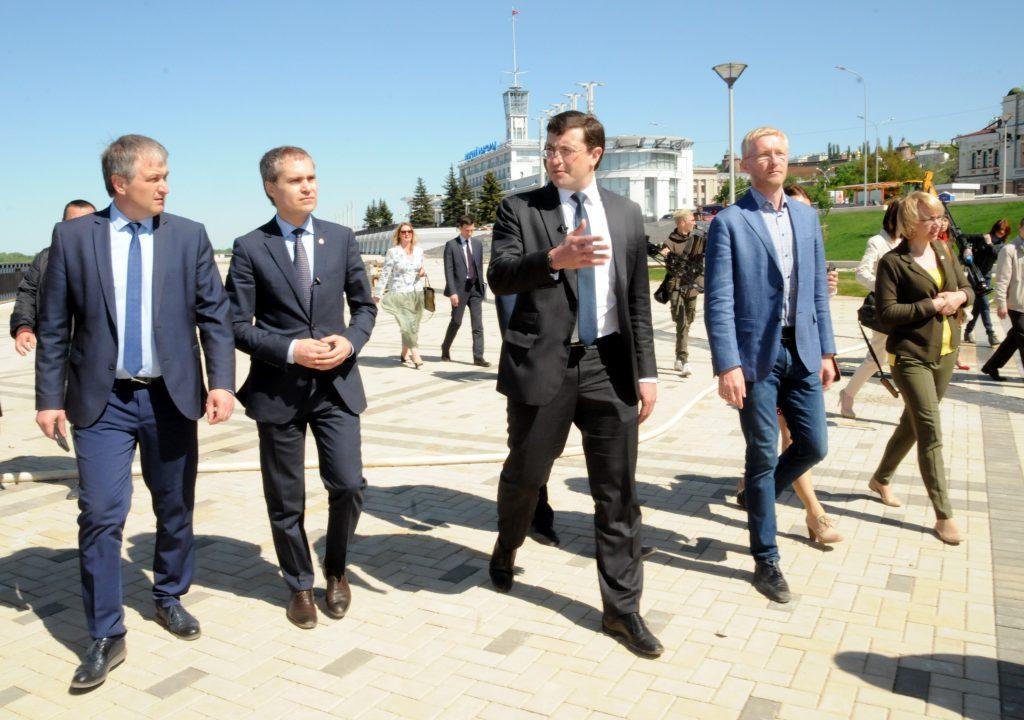 Глеб Никитин поручил администрации Нижнего Новгорода в ежедневном режиме контролировать работы на Нижне-Волжской набережной