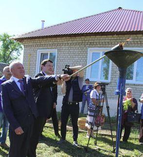 Глеб Никитин принял участие в торжественном пуске газа в селе Монаково