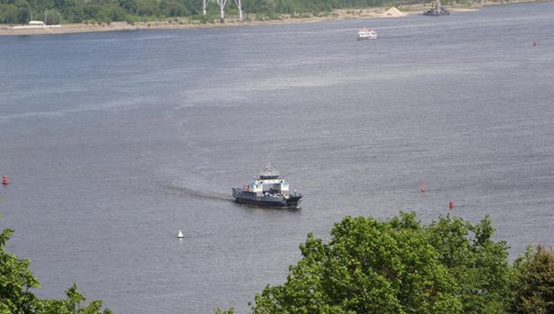 Паромная переправа Бор — Нижний Новгород откроется 1 июля