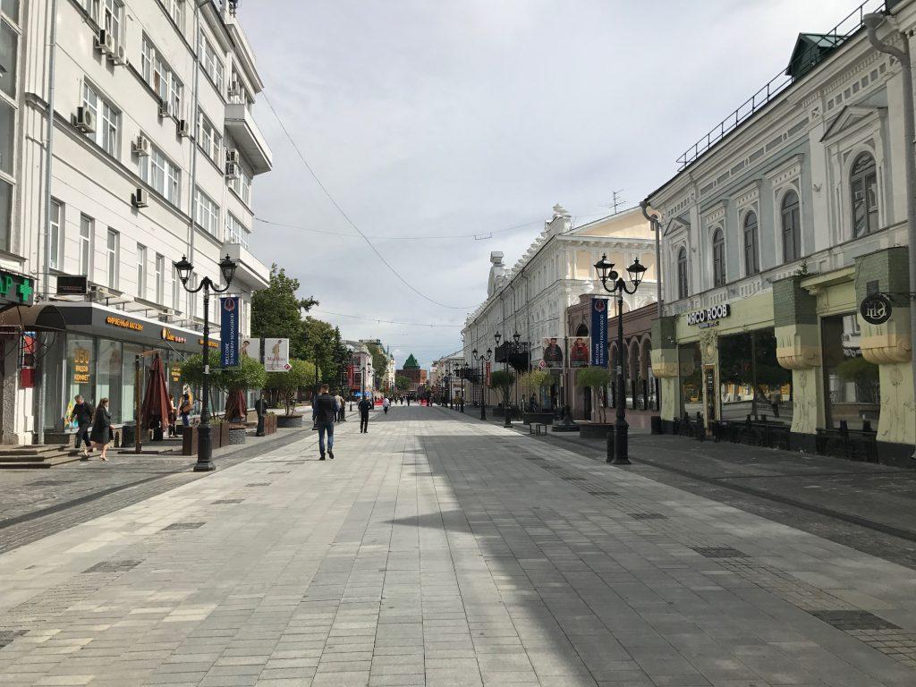 Нижегородцы обсудили проект реконструкции Большой Покровской