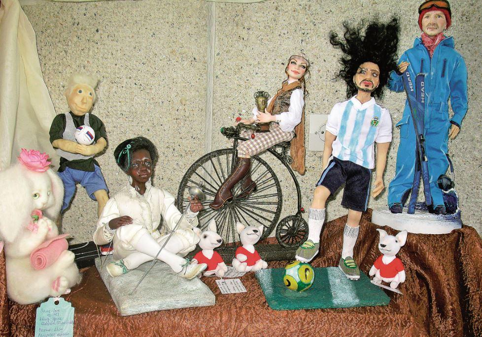 Необычных кукол представили нижегородцам
