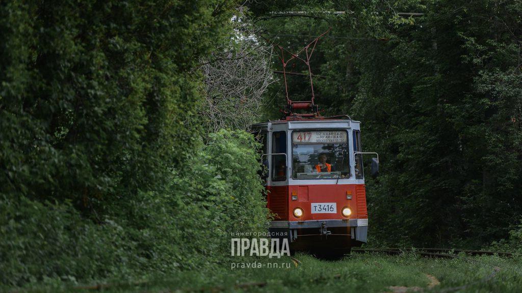 Движение трамваев и троллейбусов в Автозаводском районе изменилось с 6 июля