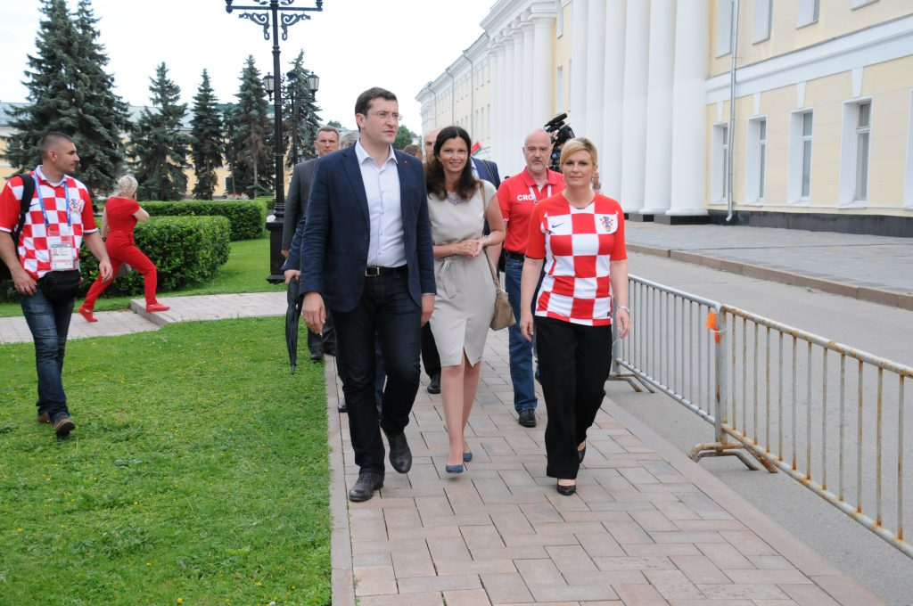 Президент Хорватии назвала Нижний Новгород счастливым городом