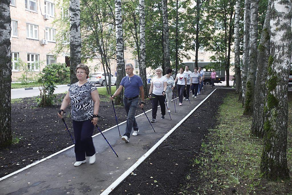 400 метров здоровья. В больнице им. Н.А.Семашко появился специальный маршрут для пациентов