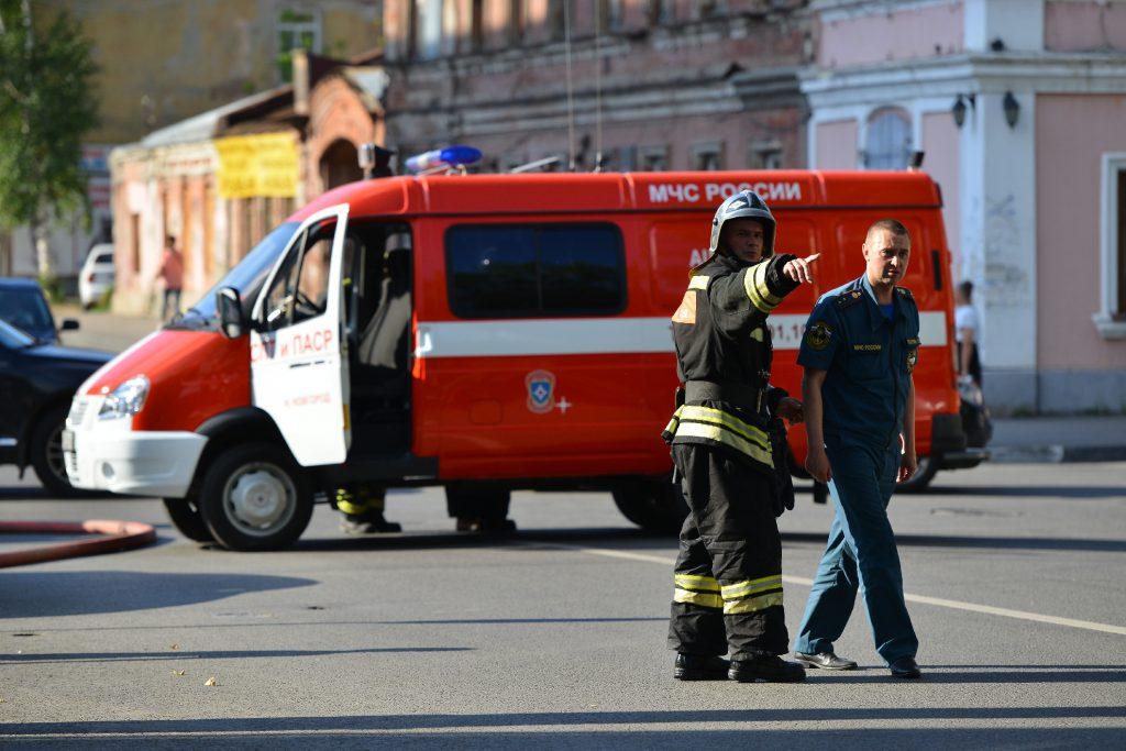 Больше 30 детей эвакуировали во время пожара в детском саду в посёлке Большое Козино