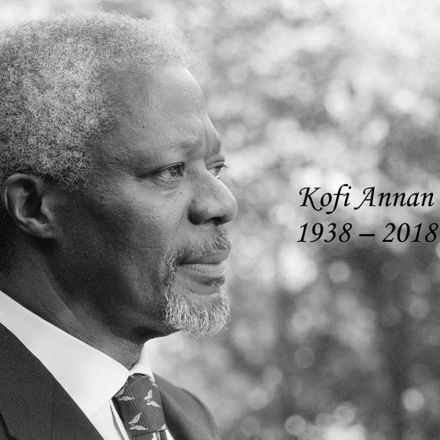 Бывший генсек ООН Кофи Аннан умер после непродолжительной болезни