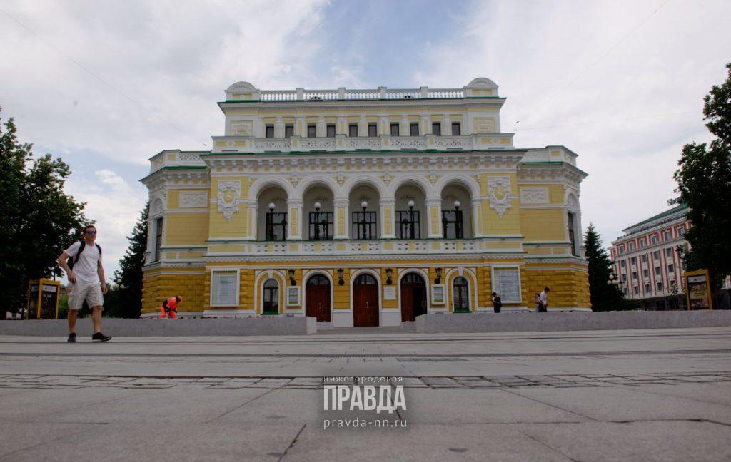 Нижегородский театр драмы приступает к репетициям