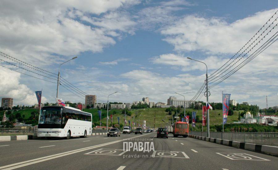 На Канавинском мосту уменьшились пробки из-за изменения режима работы светофоров