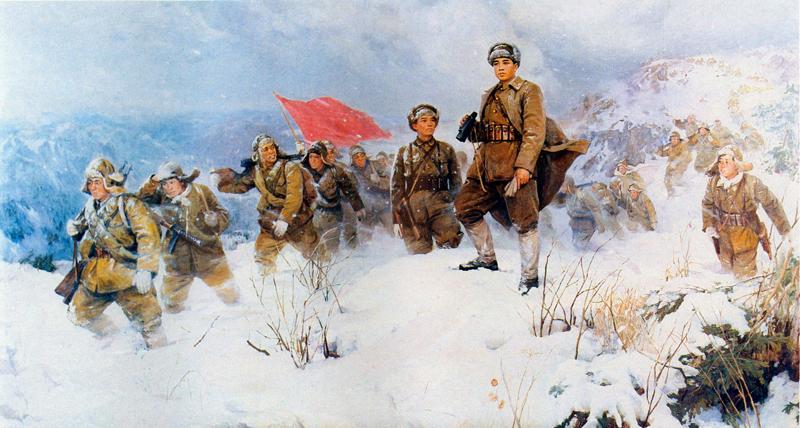 Сонгунское руководство и освобождение Кореи