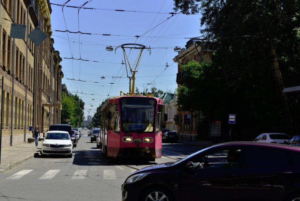 Трамвайное кольцо могут частично разобрать в центре Нижнего Новгорода