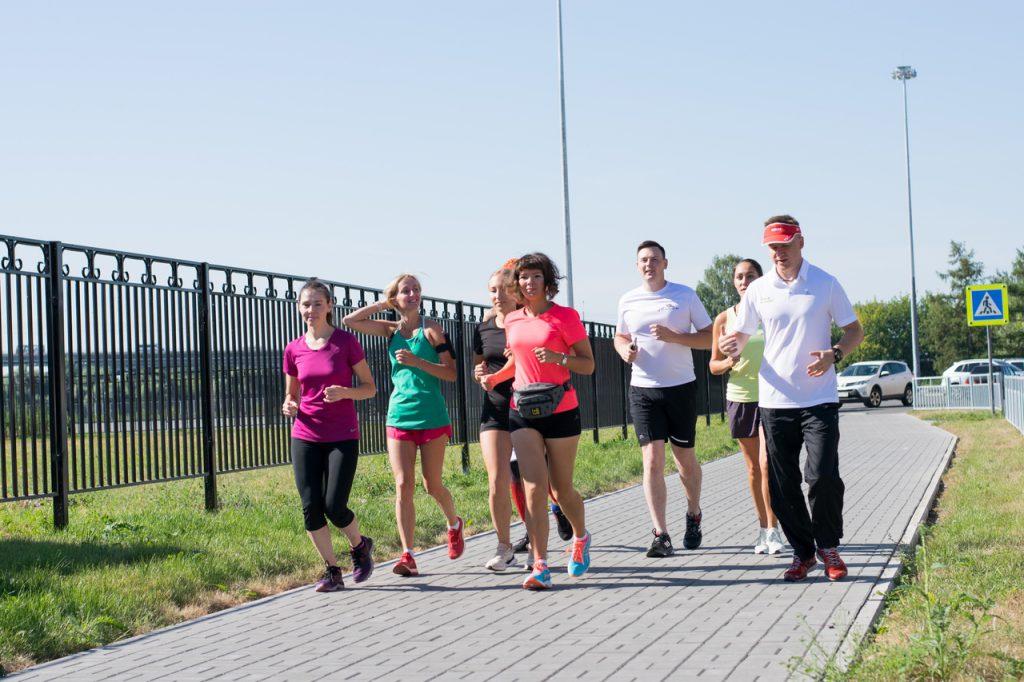 Бег перед полумарафоном: участники благотворительного забега провели открытую тренировку