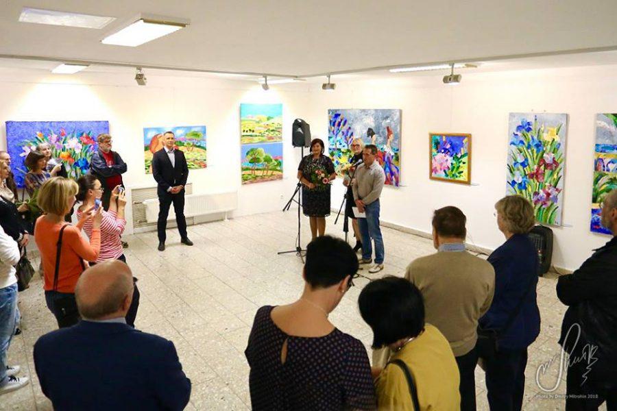 Выставка нижегородской художницы Наталии Панковой открылась в центре Берлина