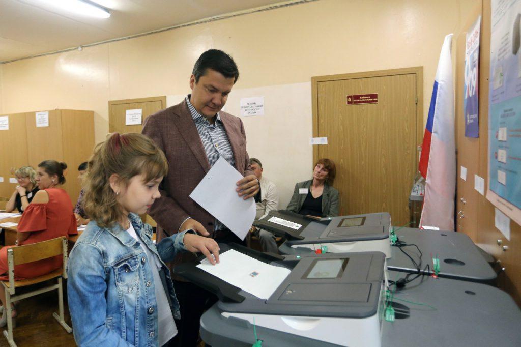 «Сегодня жители Нижегородской области выбирают свое будущее» — Денис Москвин