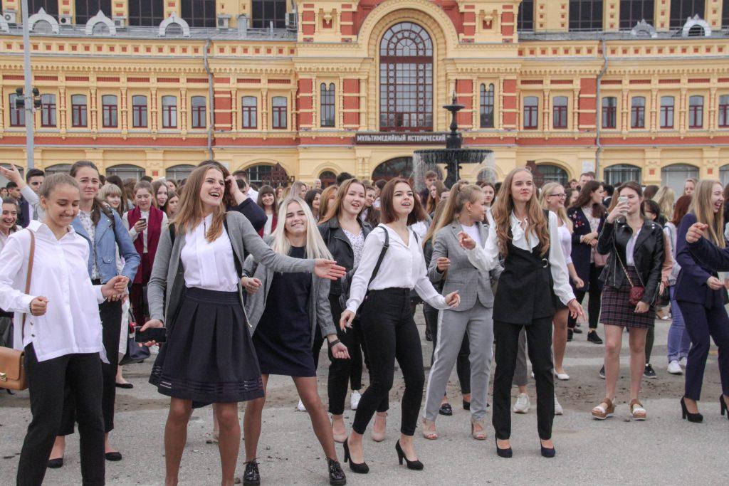 Будущие управленцы отметили День знаний на Нижегородской ярмарке