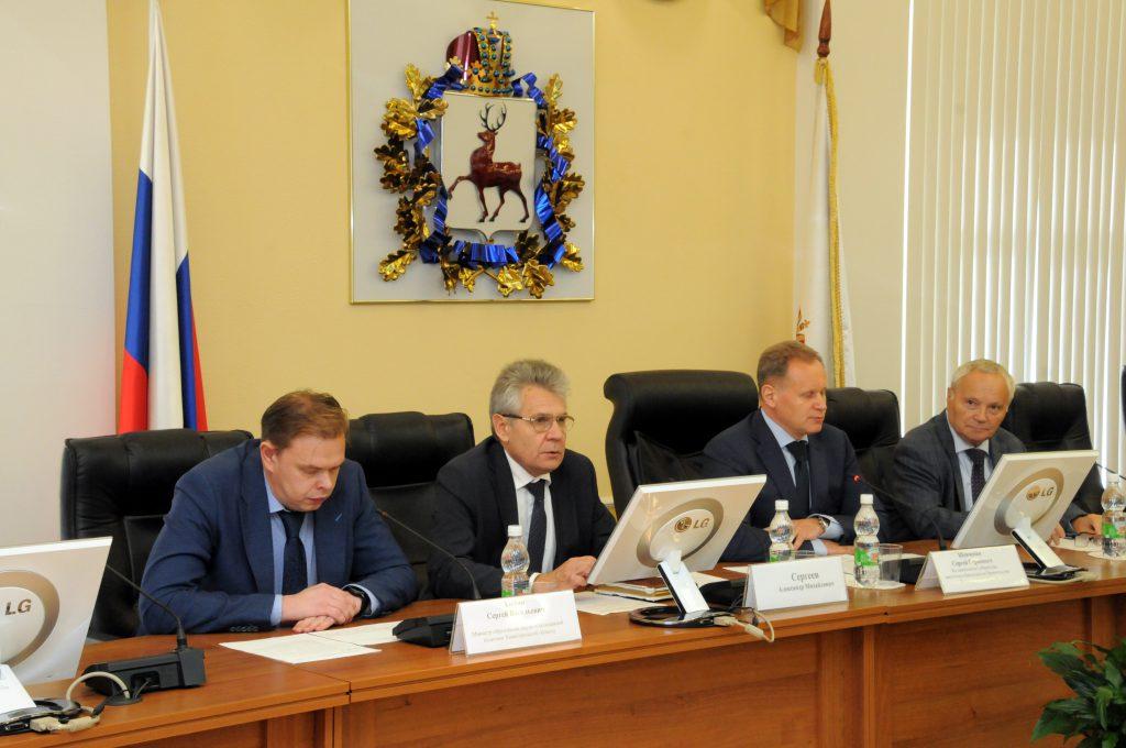 Глеб Никитин: «Мы приложим максимум усилий для того, чтобы один из научно-образовательных центров появился в Нижегородской области»