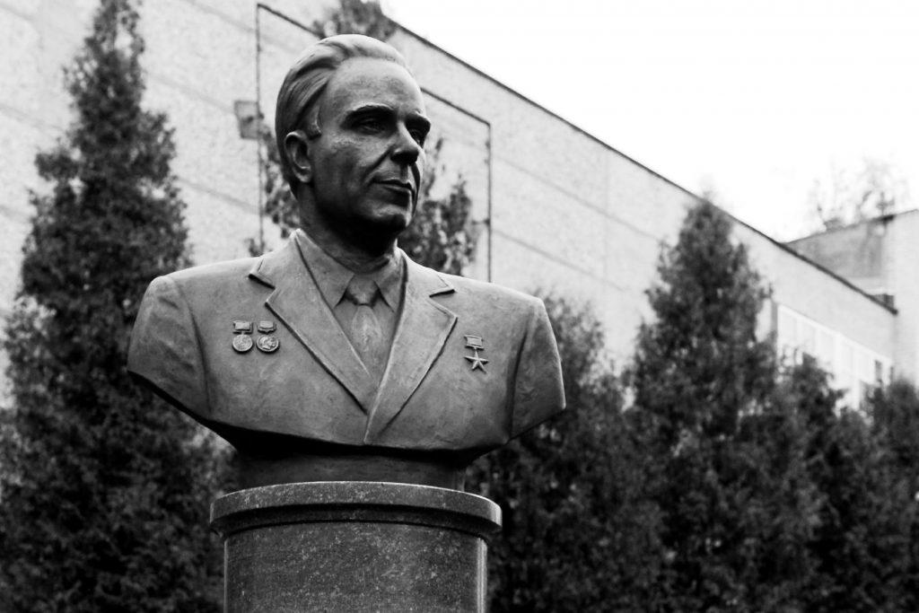 Открытие памятника Африкантову