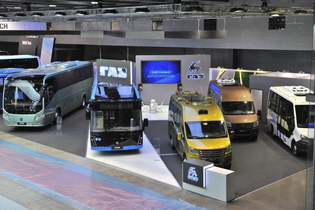Какие автобусы привезла «Группа ГАЗ» на международный салон Busworld Russia 2018?