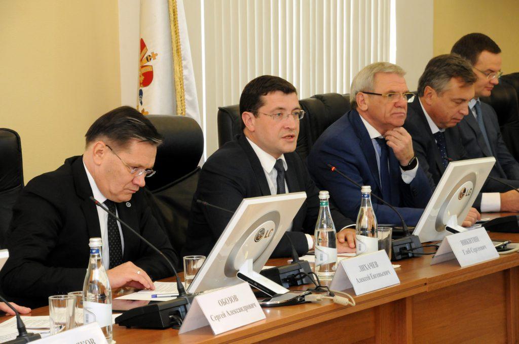 Нижегородская область станет образцом для внедрения проекта «Эффективный регион» по всей России