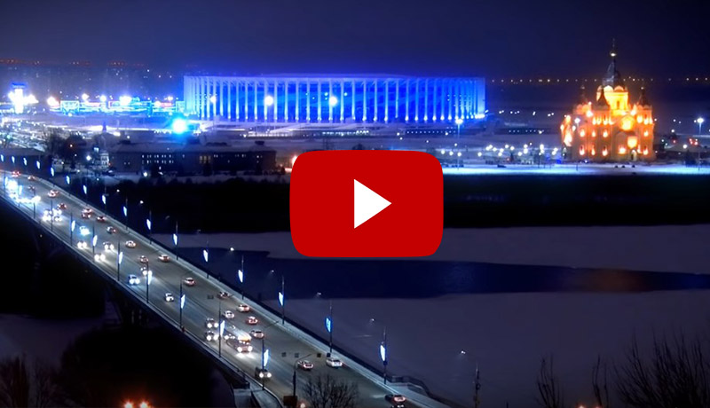 Поздравление губернатора Нижегородской области Глеба Никитина с Новым годом
