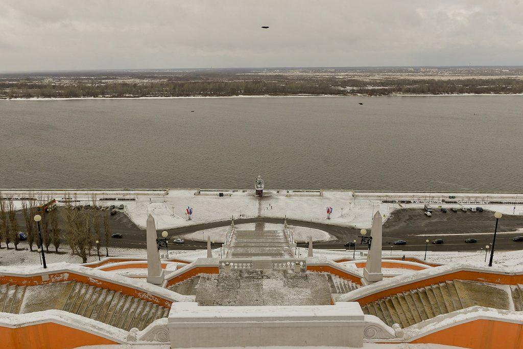 Реконструкцию Чкаловской лестницы завершат к концу 2020 года