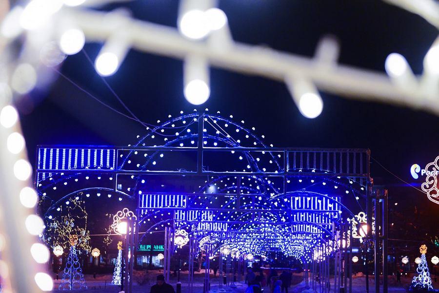 В Нижнем Новгороде потратят 50 млн рублей на новогодние украшения