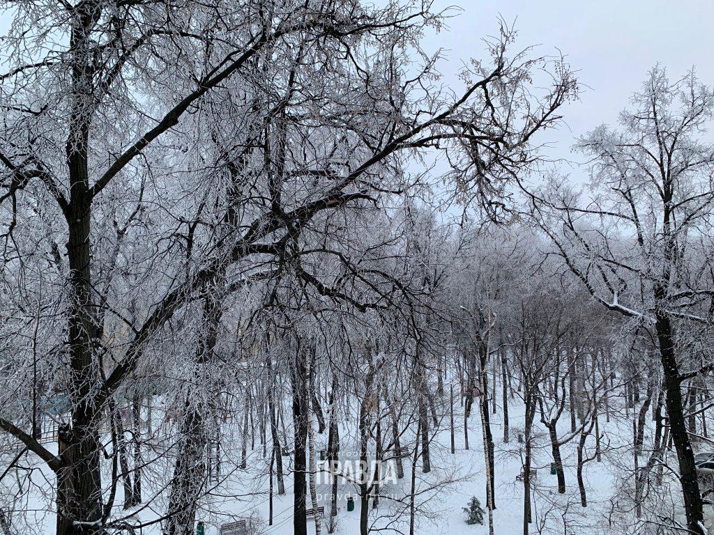 Ледяной дождь пройдет в Нижегородской области