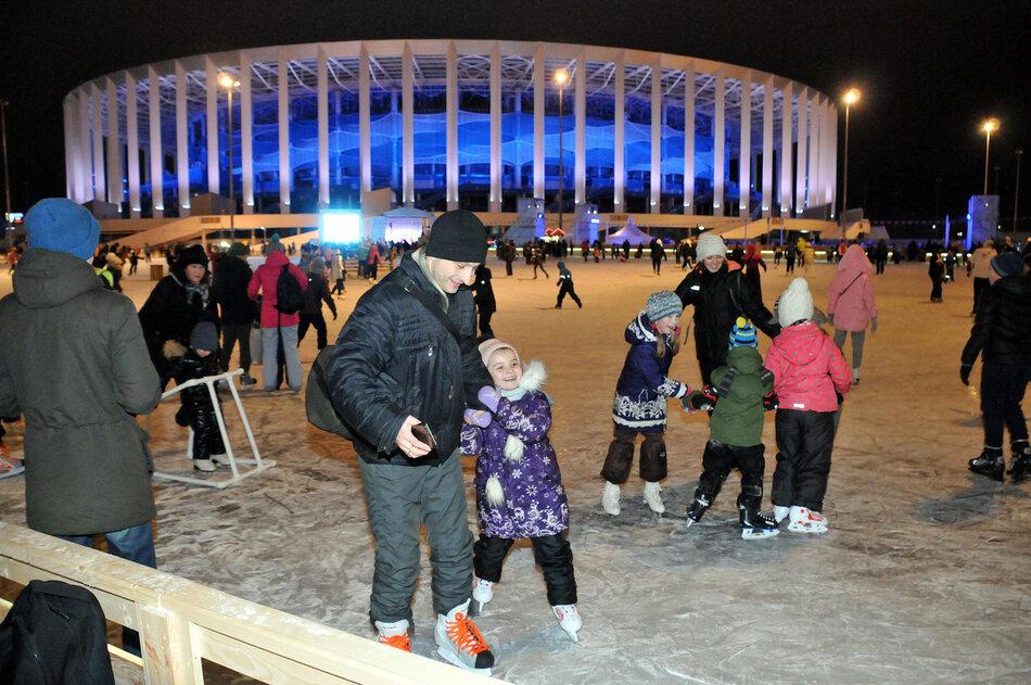 Зимний «Спорт Порт» откроется натерритории стадиона «Нижний Новгород»
