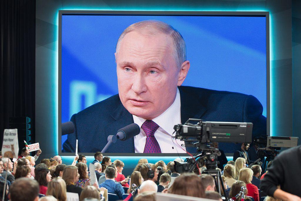 Открытый вопрос. Что осталось за кадром пресс-конференции Владимира Путина