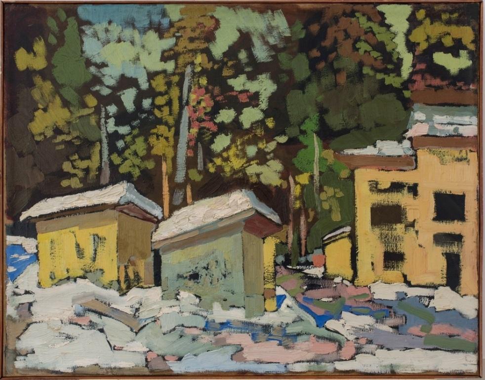 «Впервые широкой аудитории представлены более 90 произведений Маслова из фондов НГХМ»
