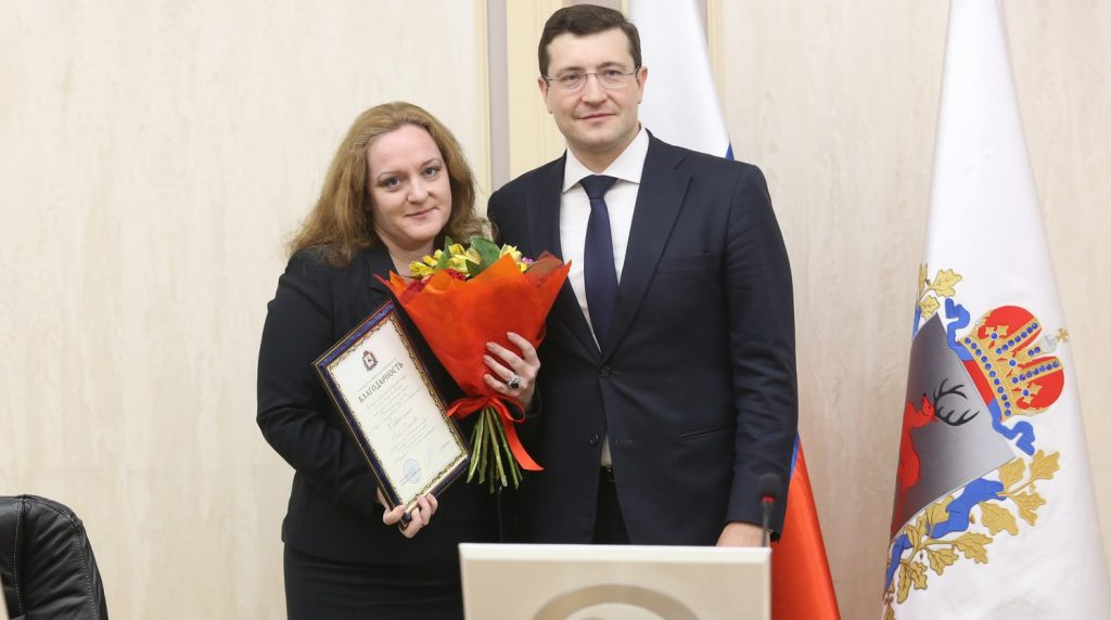 Глеб Никитин вручил награды нижегородским журналистам