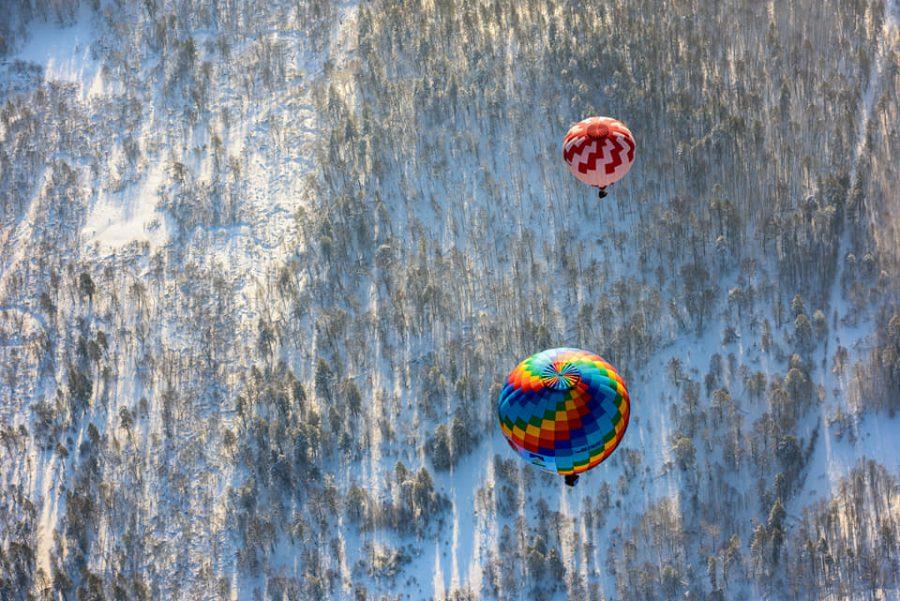 На большом воздушном шаре. Нижегородцы перелетели через Уральские горы