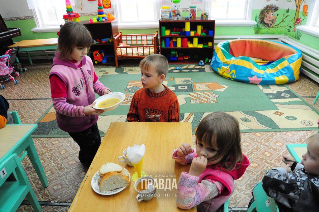 30 дежурных групп будут открыты в детских садах Нижнего Новгорода в майские выходные