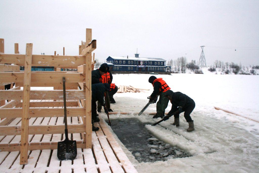 Нижний Новгород готовится к крещенским купаниям